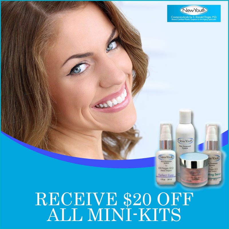 June Skin Care Specials New Youth Skin Care Mini Kits