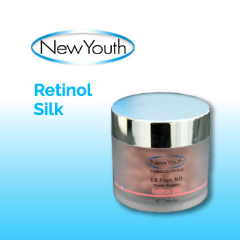 New Youth Skin Care - Retinol Silk to reverse the signs of aging