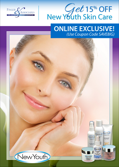 New Youth Skin Care Specials are awesome! Spring and Early Summer 2018