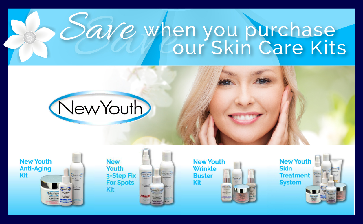 New Youth Skin Care September & October Specials