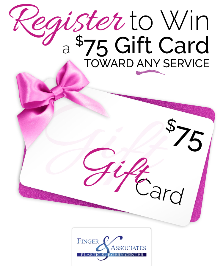 Register To Win a Gift card at New Youth Skin Care in Savannah