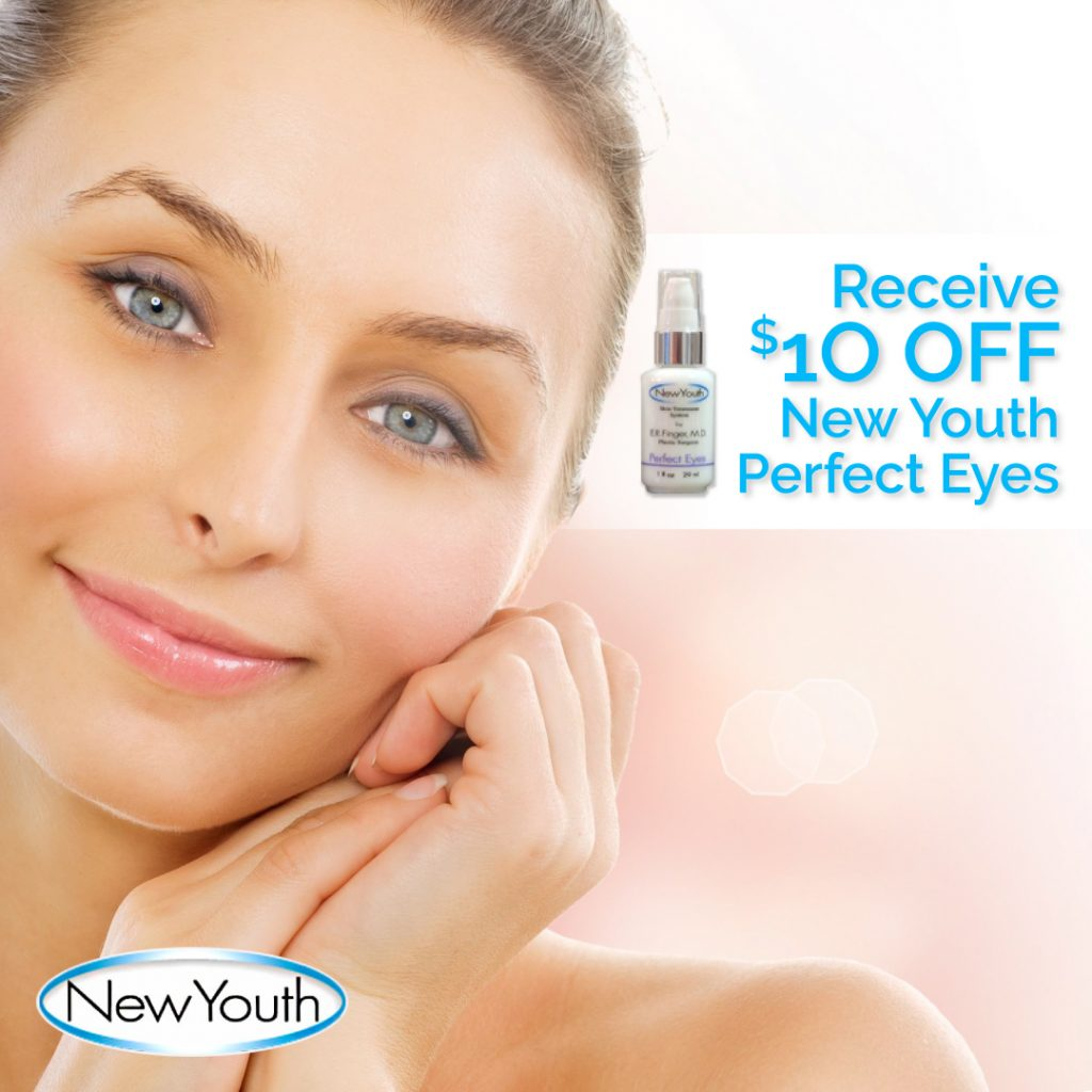 We do not offer free trials or subscriptions Enjoy skin care specials at New Youth Skin Care