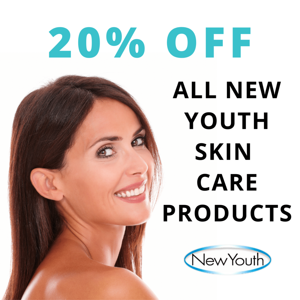New Youth Skin Care 20% Off